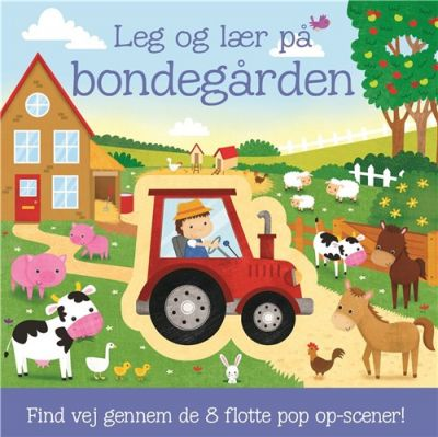 Carlsen-Leg og Lær-8 Pop-Up Scener Bondegården