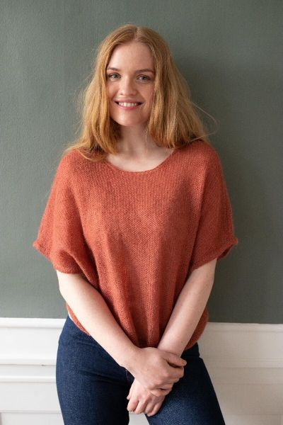 Liberty Sweater Rose Tile