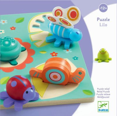 Djeco Puzzle Lilo Små Dyr
