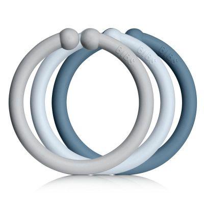 Bibs Loops 12 Pak Baby blue/Cloud/Petrol