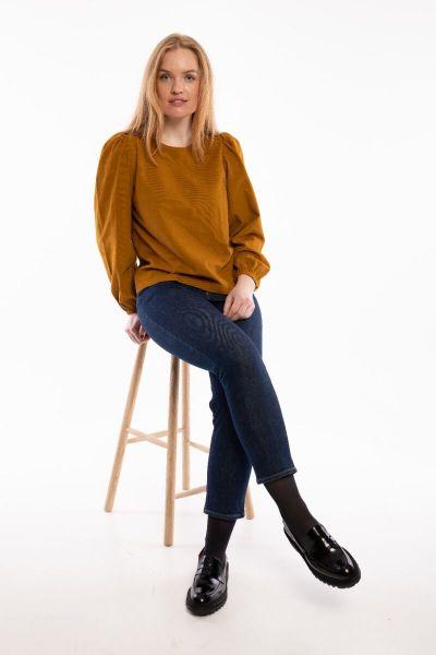 Louise Cord Shirt Mustard