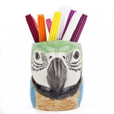 Quail Pencil Pot Macaw