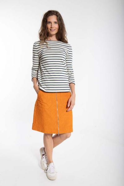 Madelaine Cord Skirt Honey