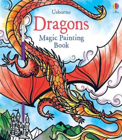 Usborne-Magic Painting Book Dragons