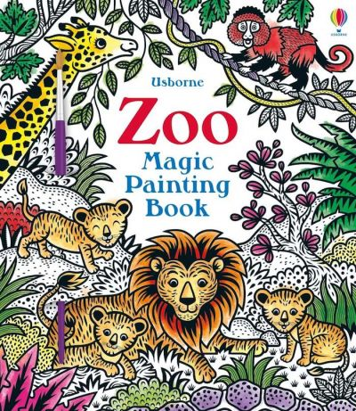 Usborne-Magic Painting Book Zoo