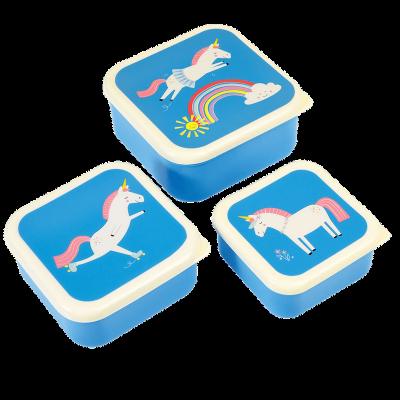 RL Snack Box-Set of 3 Magical Unicorn