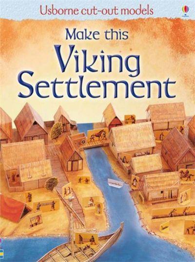 Usborne-Cut Out  Viking Settlement