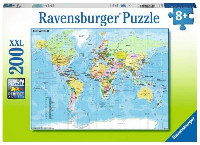 Ravensburger Puzzle 200 Brk Map Of The World