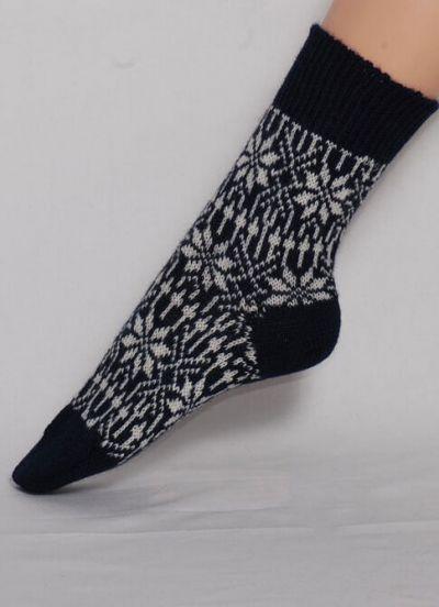 Nuno Socks Marine/White