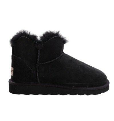 Mini Sheepskin Boots Black