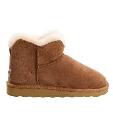 Mini Sheepskin Boots Chestnut