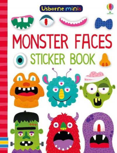 Usborne-Minis Sticker Book Monster Faces