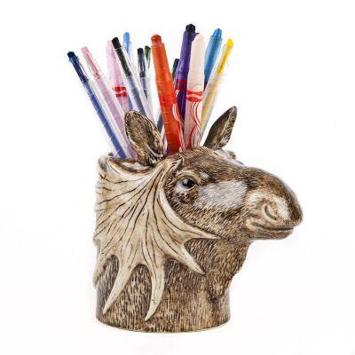 Quail Pencil Pot Moose