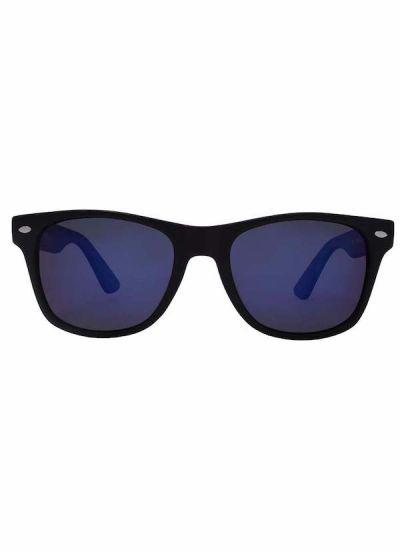 Solbriller Kreedom NOSTALGIC Black/Blue Mirror