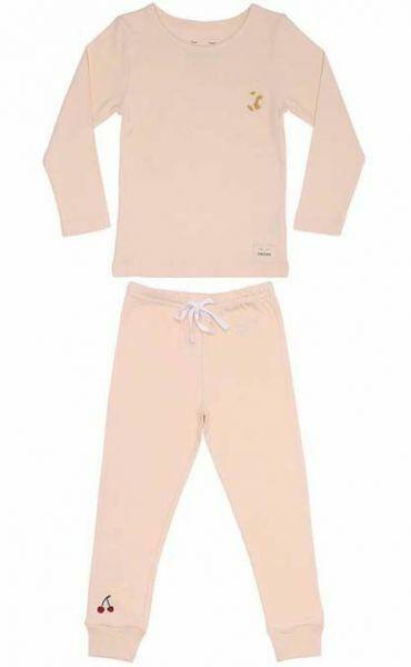 SNORK LS Pyjamas Olga Breakfast Soft Pink