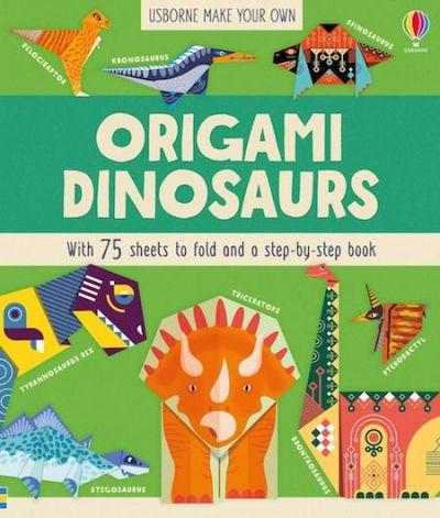 Usborne-Origami Dinosaurs