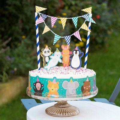 RL Cake Bunting Party Animals