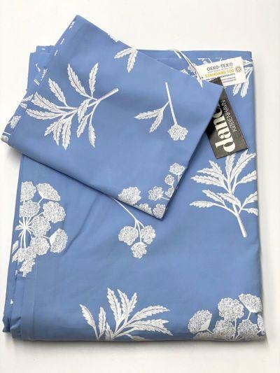 ESS - ORGANIC Bedlinen Adult  Pastel blue/Offwhite HEMLOCK