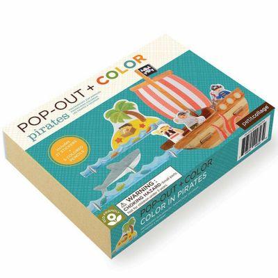 Room2Play-Pop Op Farvelægning Pirat