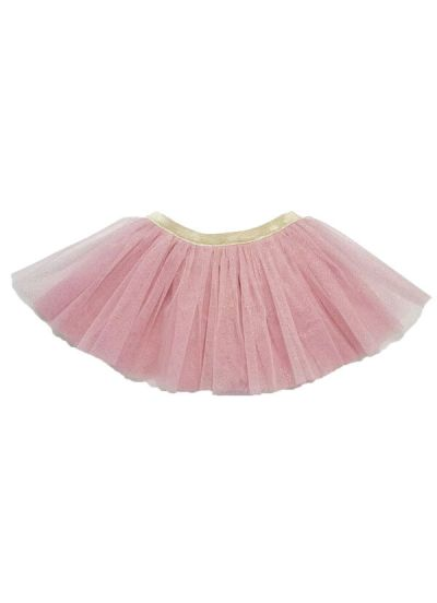 Sparkle Skirt Rose Glitter