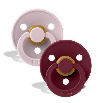 Bibs Sut 2-Pak Pink Plum/Elderberry