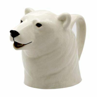 Quail Jug Large Polar Bear