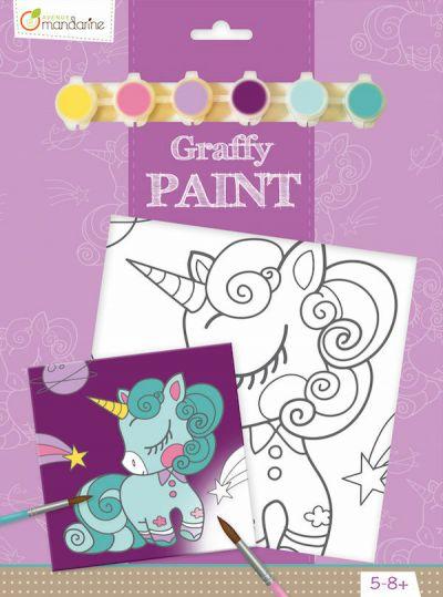 Avenue M Graffy Paint Unicorn