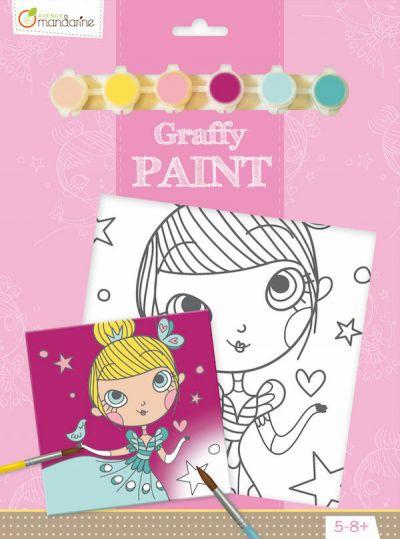 Avenue M Graffy Paint Princess