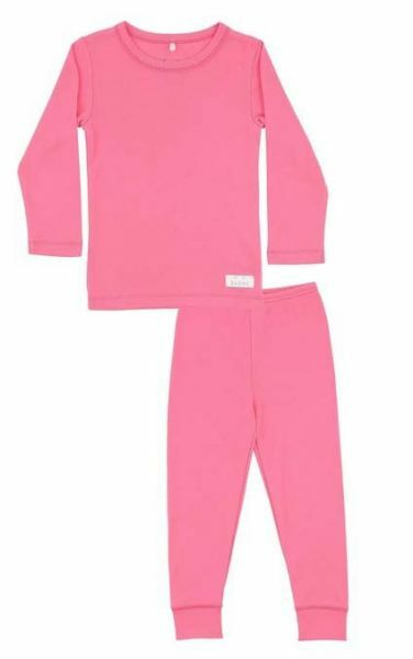 SNORK Basic LS Pyjamas Pretty Pink