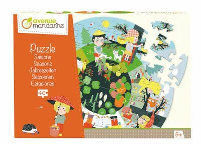 Avenue M Puzzle Large Seasons