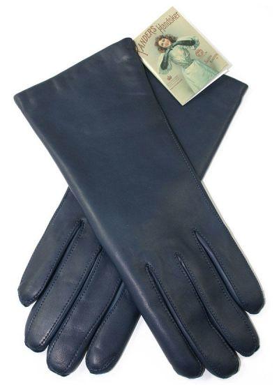 Luksus Handske Navy