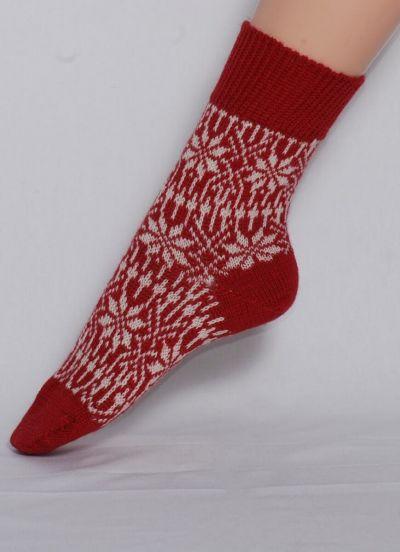 Nuno Socks Red/White