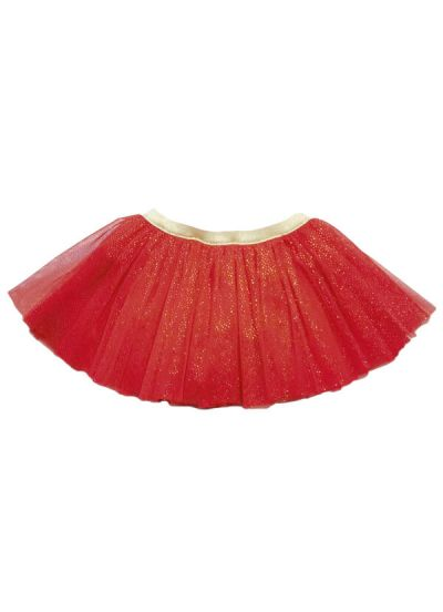 Sparkle Skirt Red Glitter