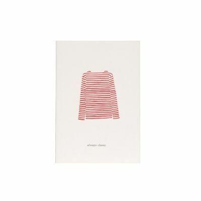 Kartotek Kort Red Sweater