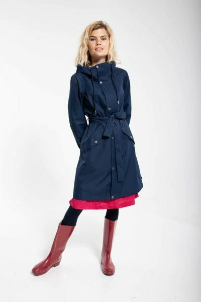 Rikke Raincoat Navy