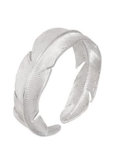 Pico CPH Feather Ring Silver