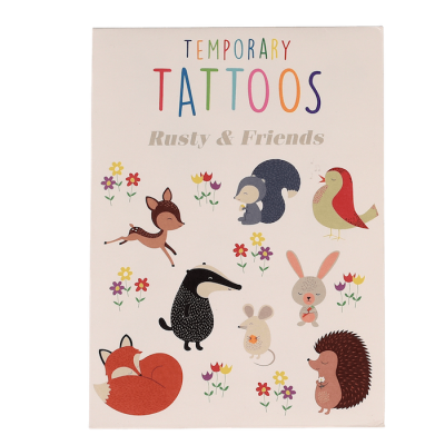 RL Temporary Tattoos Rusty & Friends