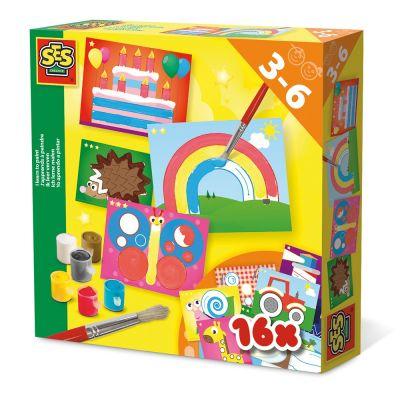 Room2Play Jeg lærer at male Multicolour