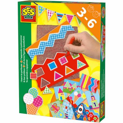Room2play Jeg lærer at perforere Sjove prikmønstre