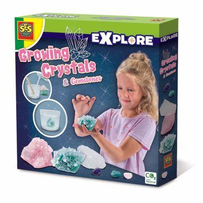 Room2Play Vækstkrystaller Krystaller og Smykkesten