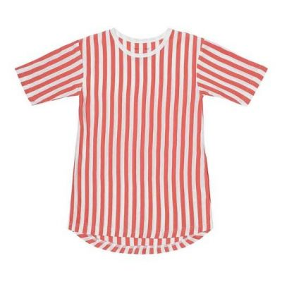 SNORK SS Saga Nightdress Lazy Red Stripes