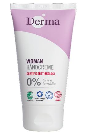 Derma Håndcreme 75ml Parfumefri