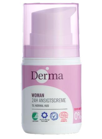 Derma 24H Ansigtscreme 50ml Normal Hud