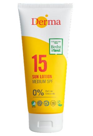 Derma Sollotion SPF15 200ml  Parfumefri