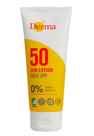 Derma Sun Lotion SPF50 100ml  Parfumefri