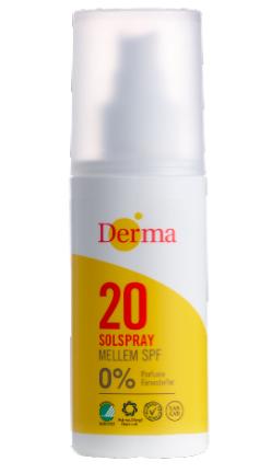 Derma Sunspray SPF20 150ml  Parfumefri