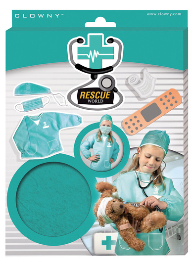 Room2Play Doctor's surgeon Gown
