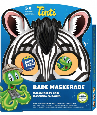 Andemor Badmaske Zebra