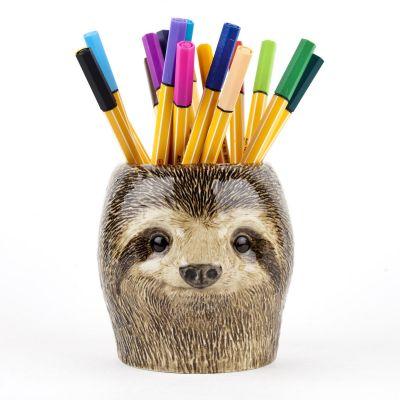 Quail Pencil Pot Sloth