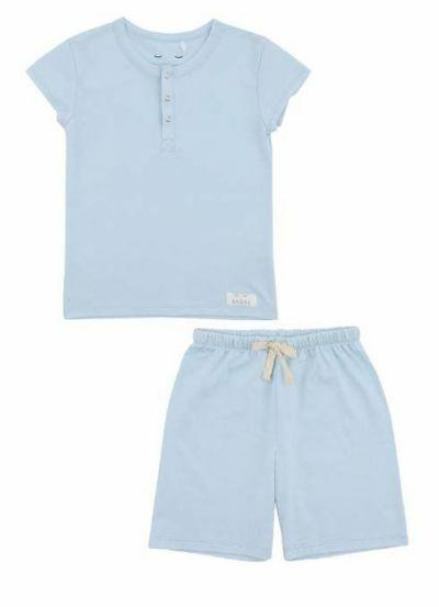 SNORK Vilhelm Summer Pyjamas Sky Blue